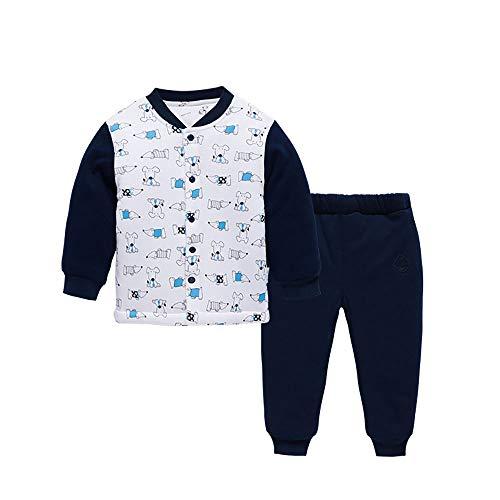 Baby Girl/Boy Winter Sleepwear Kids' 2-Piece Cute Animal Long Sleeve Pajama Sets Pjs 2-3T for Sleep and Play Black