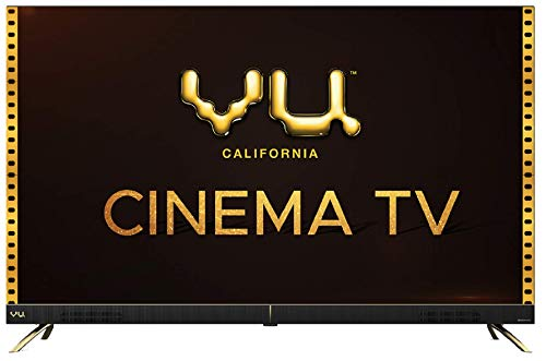 Vu 126 cm (50 inches) 4K Ultra HD Cinema Android Smart LED...