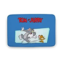 トムとジェリー バスマット トイレマット 玄関マット屋外 室内 滑り止め付き 吸水 廊下 洗面台 寝室 浴室 Danesi バスルーム キッチンアニメ キャラクター 40x60cm