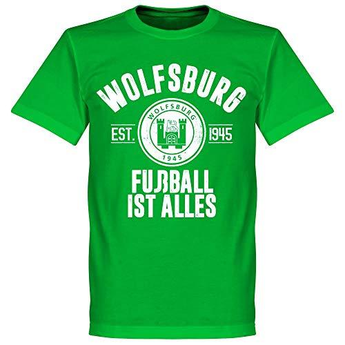 Retake Wolfsburg Established T-Shirt, Grün, Herren, grün, Medium