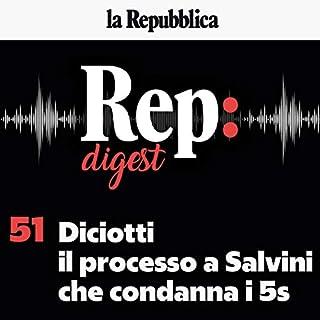 Diciotti, il processo a Salvini che condanna i 5s copertina