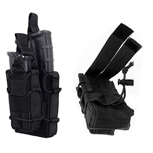 FIRECLUB Bolsa de Revista táctica Molle con Rifle único para Pistola de...