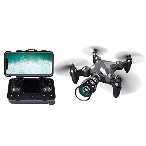 Slreeo Small Foldable Drone, High-Definition Aerial Remote Control Quadcopter, Gravity Sensor, Speed Switching, Implementation of Image Transmission, One-Key Return