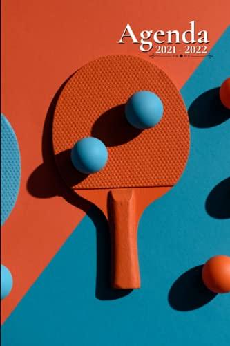 Agenda Scolaire 2021 2022: Ping Pong   Semainier au format A5 pour les étudiants, professionnels et particuliers - (Août 2021 à Juillet 2022)