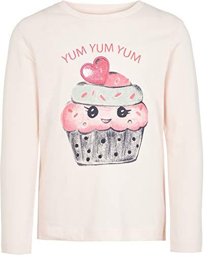 NAME IT T-shirt à manches longues muffin top bébé vêtements bébé, rose