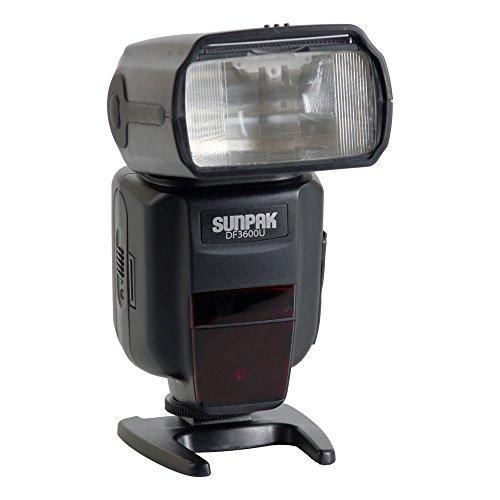 Sunpak DF3600U Flash for Canon and Nikon Cameras
