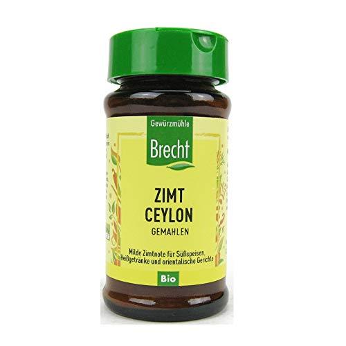 Brecht Zimt Ceylon gemahlen bio 27 g Glas