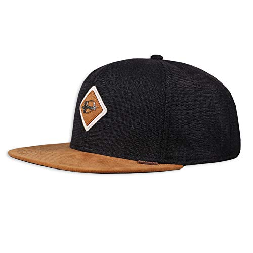 Djinns - Metal Patch (Black) - Snapback Cap Baseballcap Hat Kappe Mütze Caps