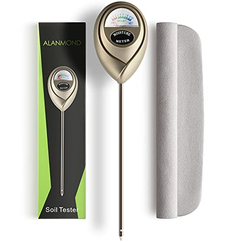 ALANMOND Soil Moisture Meter for Plants – Water Meter for Indoor Plants –...