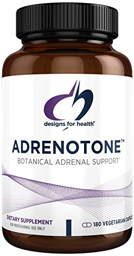 Designs for Health Adrenotone - Adrenal Support Supplement with Rhodiola Rosea, Ashwagandha, Vitamins B6, B2 + B5 - Designed to Support Adrenals + Healthy Cortisol Levels (180 Capsules)