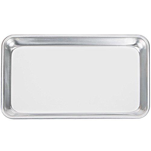 Happypinto Aluminum Mini Sheet Pans/Bun Pans, 1/8, One Eighth size 6'x10' (12 pack)