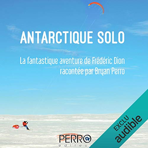 Page de couverture de Antarctique solo