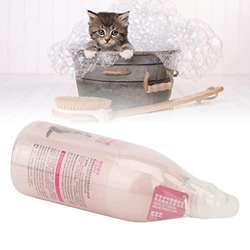 Eulbevoli Champú para Mascotas, Suministros para Gatos, portátil con Olor Fresco, la Mejor opción para Suavizar el Cabello Sensible de Las Mascotas