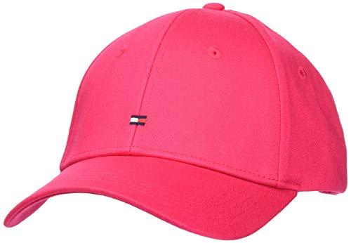 Tommy Hilfiger Damen Bb Cap Schirmmütze, Pink (Pink Tz8), One Size