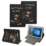NAUC Tablet Schutzhülle für Lenovo Tab 4 10 Plus Tasche hochwertiges Kunstleder Tasche Hülle Standfunktion Cover 10 Zoll Universal Case, Farben:Motiv 7