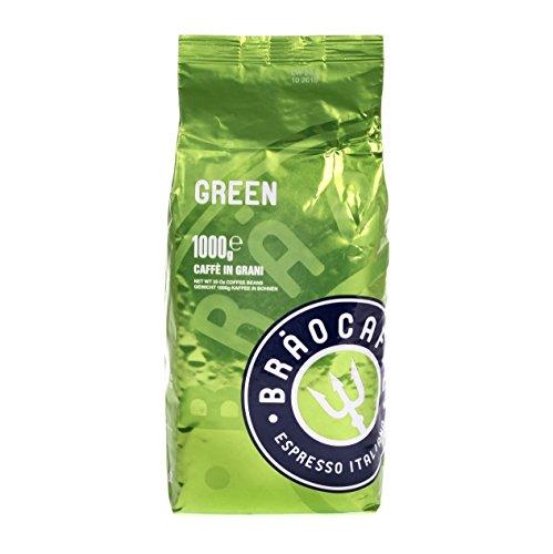 Brao Caffé Kaffee green Bohnen, 1er Pack (1 x 1 kg)