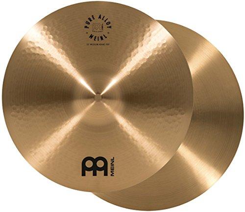 "MEINL Cymbals マイネル Pure Alloy Series ハイハットシンバル 15"" Medium Hihat PA15MH 【国内正規品】"