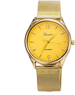 Geneva Casual Watch For Women Analog Stainless Steel - zsy
