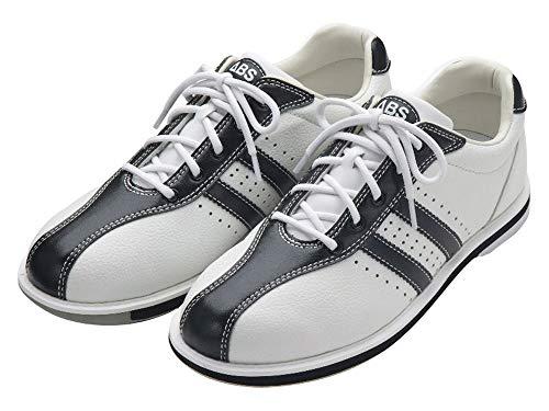 (ABS) ボウリングシューズ S-380 ホワイト・ブラック 26.5cm 右投げ 【ボウリング用品 靴】