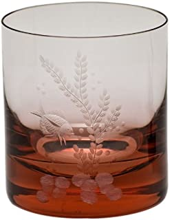 Moser Crystal Rosalin Whisky Double Old Fashioned Ocean Life