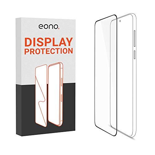 Amazon Brand – Eono 3D Panzerglas kompatibel mit Nokia 6 (2018) - Schutzglas mit 100prozent Bildschirm-Abdeckung gegen Bildschirmbruch - 9H, Full Cover - 2 Stück