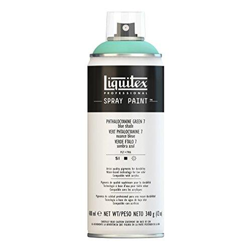 Liquitex Professional - Acrílico en spray, 400ml, verde ftalocianina 7 (tono azul)