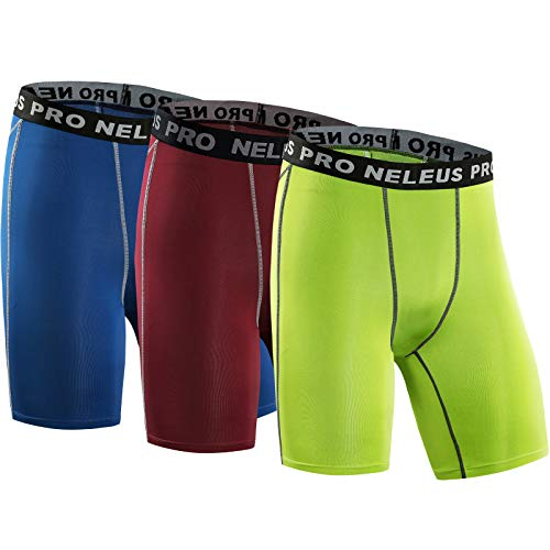 Neleus Men's 3 Pack Compression ...
