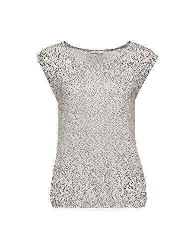 OPUS Damen Strolchi dot T-Shirt, Light Nature, 40