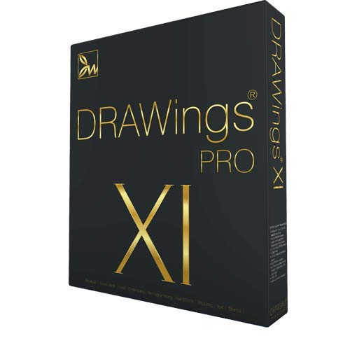 DRAWings PRO XI 11 Embroidery Digitizing and Much More Software - Compatible with Mac and Windows - Works w/Any Embroidery Machine