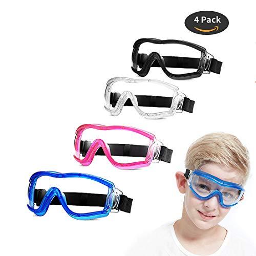 4 Pack Kids Safety Glasses