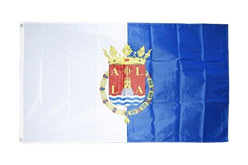 Fahne / Flagge Spanien Stadt Alicante + gratis Sticker, Flaggenfritze®