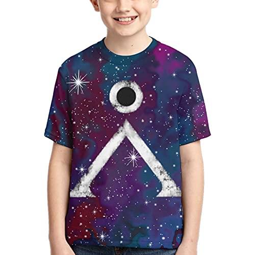 Stargate Sg-1 Jungen T-Shirt, Schwarz , M