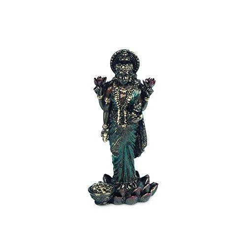 Art Deco 11623SG Figur aus Harz, buddhistisch, Lakshmi, 8 cm