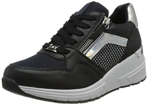TOM TAILOR Damen 1191302 Sneaker, Navy, 38 EU