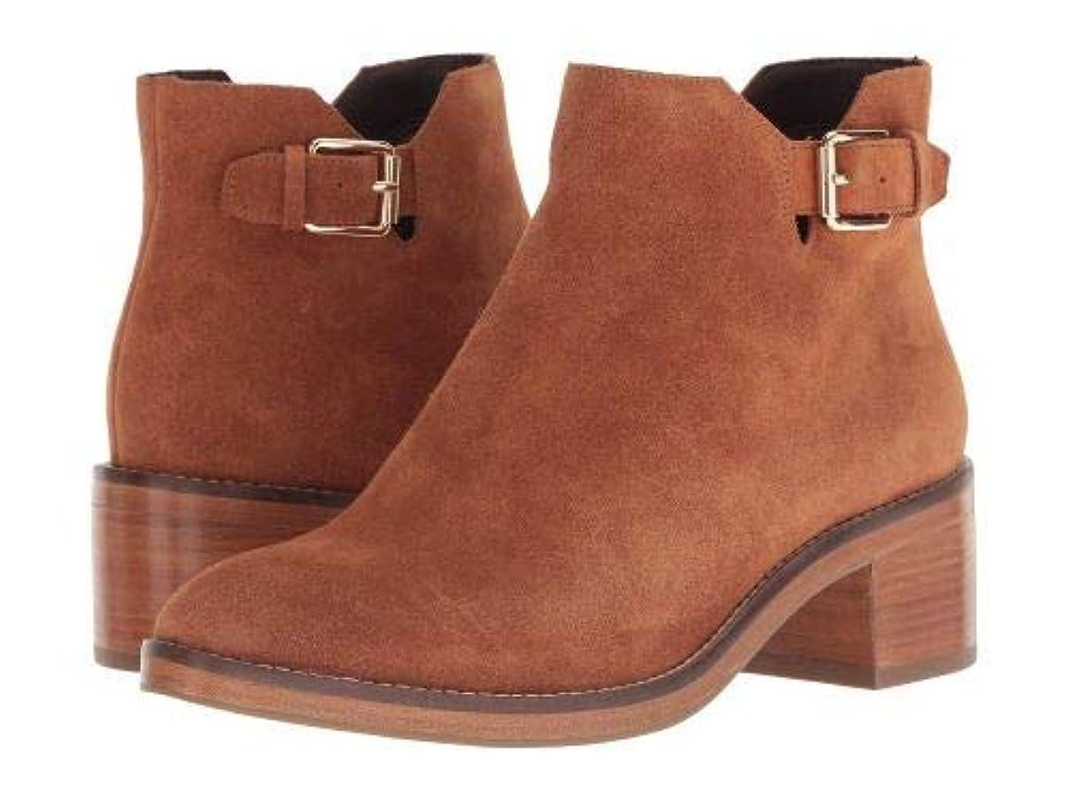 床を掃除するサーマル最大限Cole Haan(コールハーン) レディース 女性用 シューズ 靴 ブーツ アンクルブーツ ショート Harrington Grand Buckle Bootie - British Tan Suede [並行輸入品]