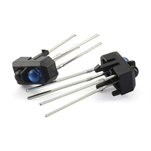 ZRM&E 20pcs TCRT5000 Photoelectric Sensors Infrared Reflective Optical Sensor for Smart Car IR Photoelectric Switch