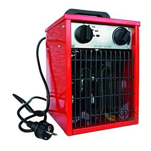 Suinga AEROTERMO Calefactor ELÉCTRICO. Potencia 3000W. Medidas: 25x25x40 cm