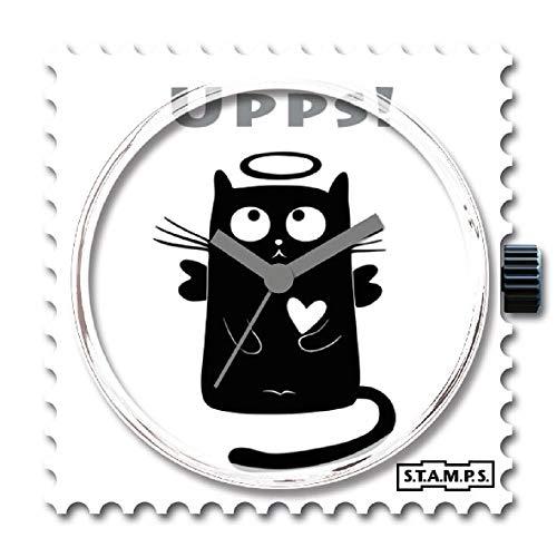 Stamps Femme Uhr Analogique Quartz mit Plastique Armband 105070