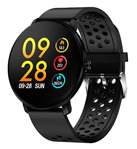 Denver SW-171BLACK Smartwatch IPS 3,3 cm (1,3 inch) SW-171BLACK, 3,3 cm (1,3 inch), IPS, touchscreen, 240 h, 100 g, zwart