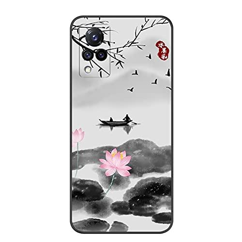 zhoujin Funda para móvil clásica con diseño de dibujos animados, antiarañazos, resistente a los golpes, para Vivo S9, DHL