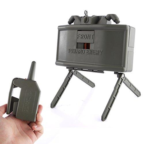 BOROK Wide Sword Remote Detonation Device Launcher Wasserbomben Claymore Landmine Ferndetonation Spielzeug Granaten Startprogramm Granatenwerfer für Nerf Spiel