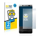 BROTECT Full-Cover Schutzfolie kompatibel mit BlackBerry Keyone (2 Stück) - Full-Screen Bildschirmschutz-Folie, 3D Curved, Kristall-Klar