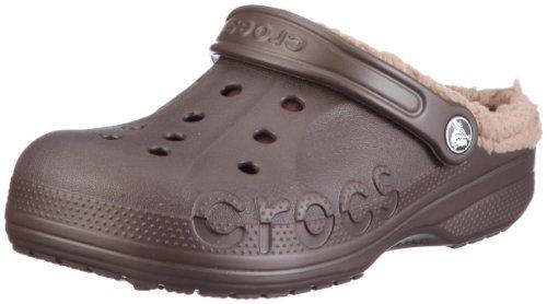 Crocs Baya Lined, Unisex - Erwachsene Clogs, Braun (Espresso/Khaki), 36/37 EU