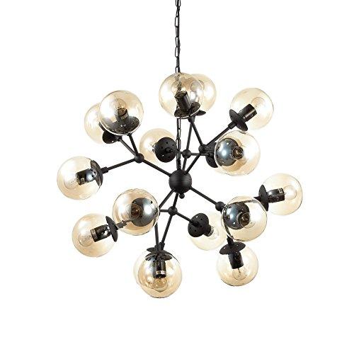 L'Aquila Design Arredamenti Ideal Lux lampadario a Sospensione Kepler SP12 in Metallo Verniciato 162201