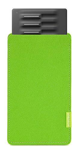WildTech Sleeve für Roli Seaboard Block Hülle Tasche aus echtem Wollfilz (Handmade in Germany) - Maigrün