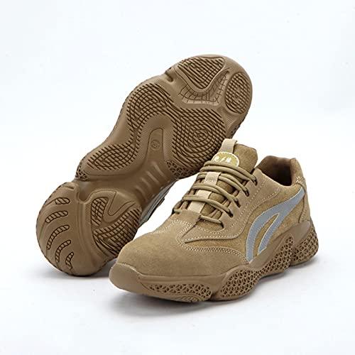 LLKK Calzado de protección,Zapatos de Hombre,Zapatos de Seguridad,Zapatos Deportivos,Zapatos de Lona Casuales...