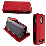 caseroxx Bookstyle-Hülle für Emporia Smart 4 in rot