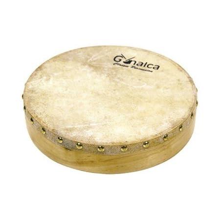 Gonalca Percusion VH01500 - Pandero de piel 20 cm clavado