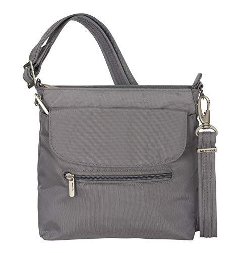 Travelon Anti-Theft Classic Mini Shoulder Bag (One Size, DARK GREY)