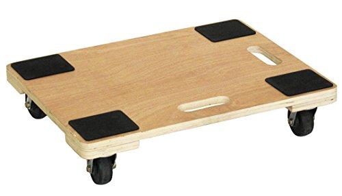 JEJアステージ 木製平台車 WHD-3 約600×450×130 /2-7539-12